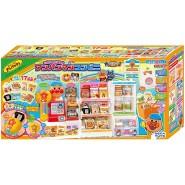 日本 ANPANMAN 麵包超人便利商店收銀購物玩具