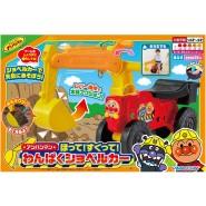 日本 ANPANMAN 麵包超人推土機玩具