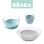 BEABA - DURALEX 玻璃餐具套裝 (附吸盤) - 叢林系列