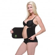 Belly Bandit Bamboo Belly Wrap - Black XS