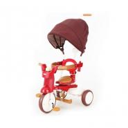 iimo #02 SS 第二代 SS 版日本可摺疊兒童三輪車 紅色 IM02SS-RD 香港行貨