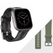 Fitbit Versa 2 SE 智能手錶 特別版 煙灰色編織紋 FB507 香港行貨