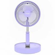 現代 HYUNDAI 無線移動折疊風扇 HY-F09R 紫色