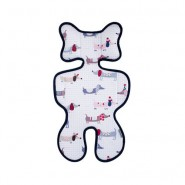Pogmang 透氣呼吸嬰兒車墊 (臘腸狗)