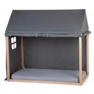 Childhome - 床架罩 (70X140 厘米) 黑色