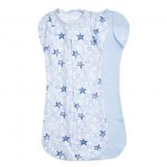 Aden+Anais 包巾睡袋 (2件裝 ) ESSENTIALS EASY SWADDLE SNUGS TWINKLING STARS BLUE