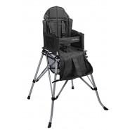 One2Stay 戶內外兩用摺疊高腳餐椅升級版 - 黑色