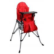 One2Stay 戶內外兩用摺疊高腳餐椅升級版 - 紅色