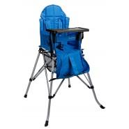 One2Stay 戶內外兩用摺疊高腳餐椅升級版 - 藍色
