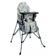 One2Stay 戶內外兩用摺疊高腳餐椅升級版 - 羽毛藍色