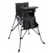 One2Stay 戶內外兩用摺疊高腳餐椅標準版 - 黑色