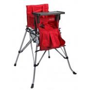 One2Stay 戶內外兩用摺疊高腳餐椅標準版 - 紅色