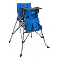 One2Stay 戶內外兩用摺疊高腳餐椅標準版 - 藍色
