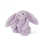 英國JELLYCAT 賓尼兔公仔 (紫藍色) (18CM)