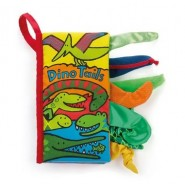 Jellycat - TAILS DINO BOOK
