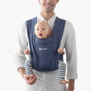 Ergobaby Embrace Carrier 環抱二式初生嬰兒背帶 – 淺海軍藍 (Soft Navy)
