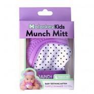 美國品牌 Munch Mitt Baby Teething Mitten 咬咬手套 (紫色)