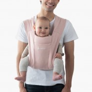 Ergobaby Embrace Carrier 環抱二式初生嬰兒背帶 – 淡粉紅色 (Blush Pink)