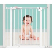 Baby Safe U 形回彈兒童安全圍欄 特細門欄 寵物圍 58-66*79cm (白色)