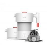 德爾瑪 Deerma 智能觸屏多功能摺疊折疊旅行電熱水壺 白色 DH300-WH 香港行貨