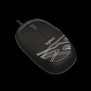Logitech - M105 有線光學滑鼠 BLACK