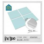 CreamHaus 冰塊貼地墊  (藍色)   Retro Cube (Blue)