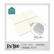 CreamHaus 冰塊貼地墊 (奶白色)  Retro Cube (Cream)