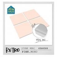 CreamHaus 冰塊貼地墊 (粉紅色) Retro Cube (Pink)