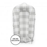 瑞典Dockatot Deluxe+ 便携式嬰兒分隔床(0-8個月) Natural Buffalo