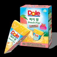 Dole - 2合1沙冰果汁棒/果汁唧唧冰 (8條入) - 桃味