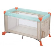美國 SAFETY 1ST 嬰兒網床連換片墊台 HAPPY DAY (淺藍)