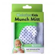 美國品牌 Munch Mitt Baby Teething Mitten 咬咬手套 (綠色)