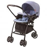 Aprica Luxuna Comfort 舒適系列雙向嬰幼兒手推車-藍色海洋