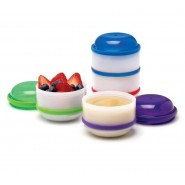 Dr Brown's 層疊式幼兒餐盒四個裝