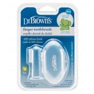Dr Brown's 嬰兒安全指套牙刷 (連收納盒)