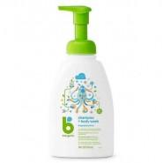 babyganics 洗髮及沐浴露 473ml - 無香味