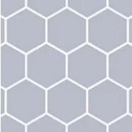 dfang 防水防滑保護軟墊 -  灰色六角紋 120cmX140cmX7mm