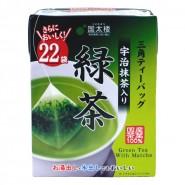 國太樓 - 宇治抹茶三角茶袋/茶包 (22袋)