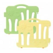 Edu Play 自由組合圍欄配防滑墊 (1塊淺黃色長板+1塊綠色長板)