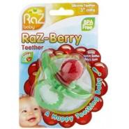 RaZ baby 草莓固齒牙膠玩具