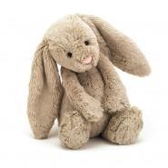 英國JELLYCAT 害羞賓尼兔系列 賓尼兔公仔 (棕色) (31CM)
