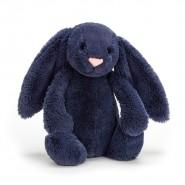 英國JELLYCAT 賓尼兔公仔 (深藍色) (31CM)