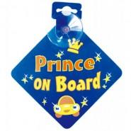 Bebecroc 車後提示語 (Prince On Board)
