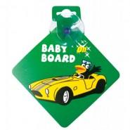 Bebecroc 車後提示貼 (Baby On Board)