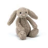 英國JELLYCAT 害羞賓尼兔系列 賓尼兔公仔 (棕色) (13CM)