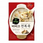 CJ - Bibigo 即食低卡香菇鮑魚粥 (280克)