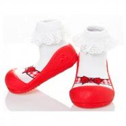 韓國Attipas學步鞋 Ballet 芭蕾系列 紅芭蕾 (13.5cm)