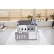 Caraz 7+1 寶寶屋地墊套裝 (附有板面固定扣) (神秘灰+白色)