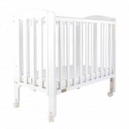 "Baby Star Easi 摺合嬰兒木床(包括2"" 床褥) – 白色 / 紐西蘭松木"