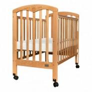 "Baby Star Cozzi 嬰兒木床(包括4"" 床褥) (原木色)"